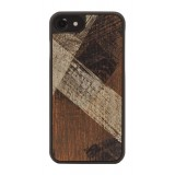 Wood'd - Vintage Mahogany Cover - Samsung S8 - Cover in Legno - Vintage Collection