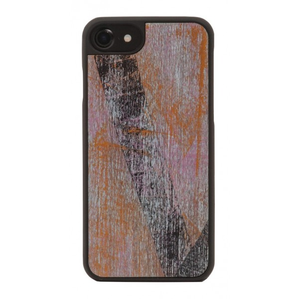 Wood'd - Vintage Light Blue Cover - Samsung S8+ - Cover in Legno - Vintage Collection