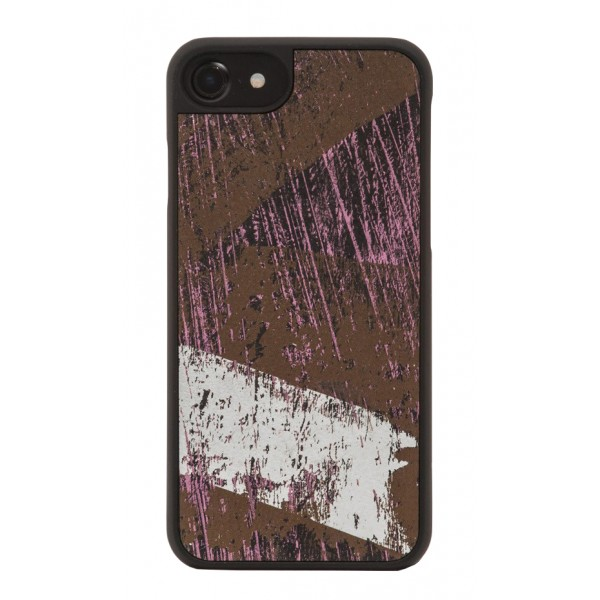 Wood'd - Vintage Black Cover - Samsung S8+ - Cover in Legno - Vintage Collection
