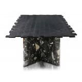 TecknoMonster - Kagrande Mignon TecknoMonster - Tavolo con Piano in Fibra di Carbonio Aeronautico e Doppia Base in Marmo