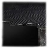 TecknoMonster - Kagrande 8 TecknoMonster - Tavolo con Piano in Fibra di Carbonio Aeronautico e Doppia Base in Marmo