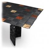 TecknoMonster - Kagrande 8 TecknoMonster - Aeronautical Carbon Fiber Board and Double Marble Base Table