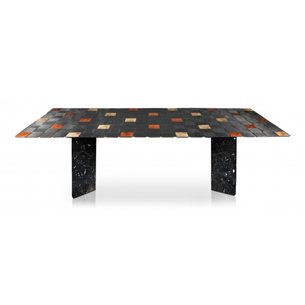 TecknoMonster - Kagrande 8 TecknoMonster - Aeronautical Carbon Fiber Board and Double Marble Base Table