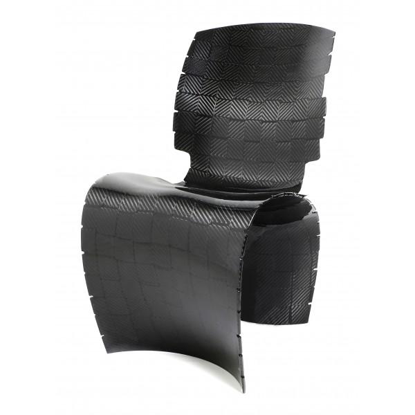 TecknoMonster - Anyma TecknoMonster - Sedia Intrecciata in Fibra di Carbonio Aeronautico