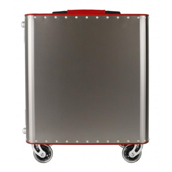TecknoMonster - Kronos S TecknoMonster - Aeronautical Titanium Trolley Suitcase
