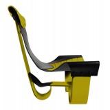 TecknoMonster - Inanitas Aerea TecknoMonster - Sedia Intrecciata in Fibra di Carbonio Aeronautico