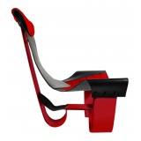 TecknoMonster - Inanitas Aerea TecknoMonster - Aeronautical Carbon Fiber Braided Carbon Fiber Chair