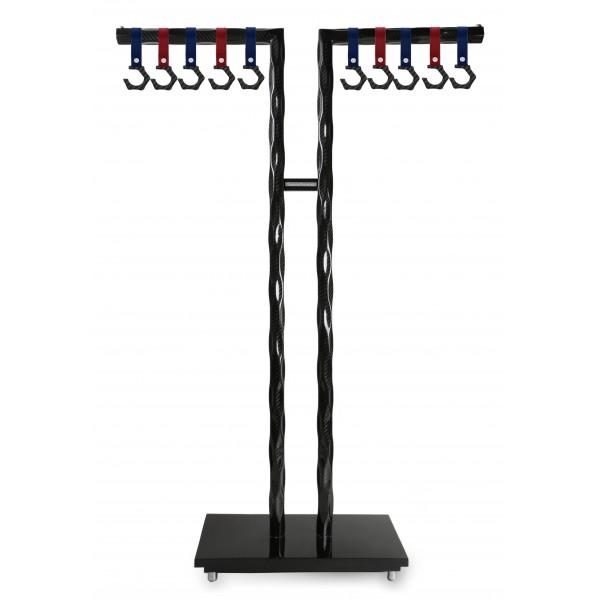 TecknoMonster - FormaT +10 Hamus Hooks TecknoMonster - Sistema Porta Abiti in Fibra di Carbonio Aeronautico