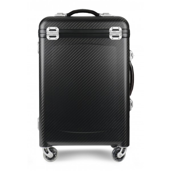 TecknoMonster - Pamana Big TecknoMonster - Aeronautical Carbon Fibre and TKSS Bulletproof Panel Trolley Suitcase
