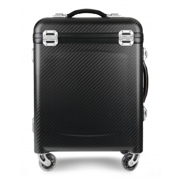 TecknoMonster - Pamana Small TecknoMonster - Aeronautical Carbon Fibre and TKSS Bulletproof Panel Trolley Suitcase