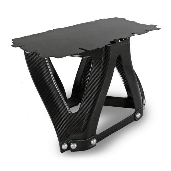 TecknoMonster - Sgongolli N 5 TecknoMonster - Aeronautical Carbon Fiber Mini Table