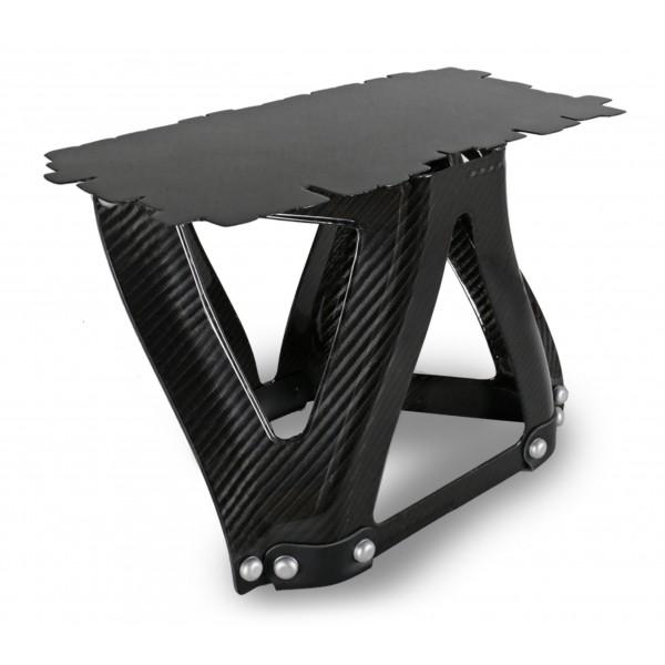 TecknoMonster - Sgongolli N 5 TecknoMonster - Mini Tavolino in Fibra di Carbonio Aeronautico