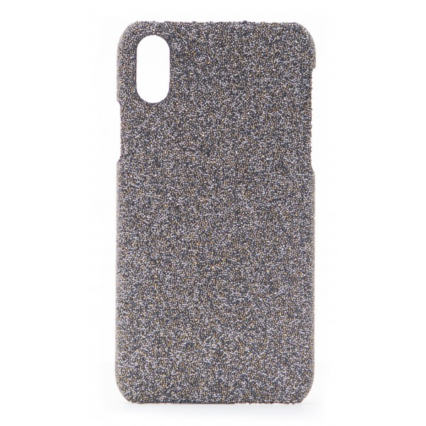 super popular faf5d 39026 2 ME Style - Case Swarovski Crystal Fabric Golden Shadow - iPhone X / XS -  Swarovski Crystal Cover