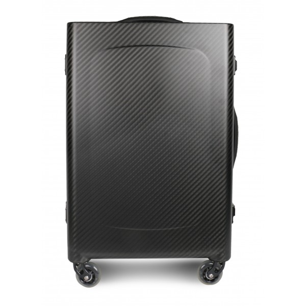 TecknoMonster - Sinossi Big TecknoMonster - Aeronautical Carbon Fibre Trolley Suitcase