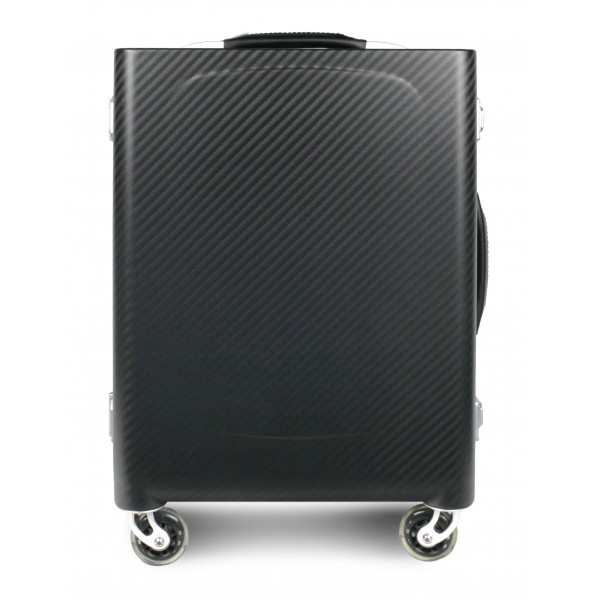 TecknoMonster - Sinossi Small TecknoMonster - Aeronautical Carbon Fibre Trolley Suitcase