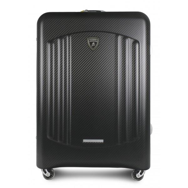 TecknoMonster - Automobili Lamborghini - Bynomio Automobili Lamborghini Maxi - Aeronautical Carbon Fibre Trolley Suitcase