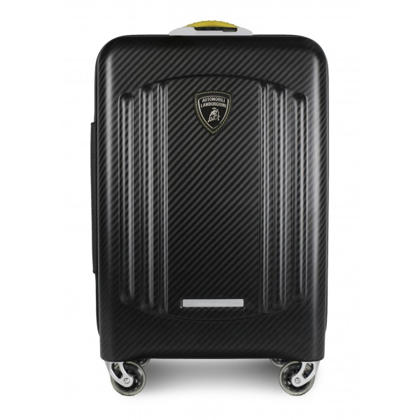 TecknoMonster - Automobili Lamborghini - Bynomio Automobili Lamborghini Big - Aeronautical Carbon Fibre Trolley Suitcase