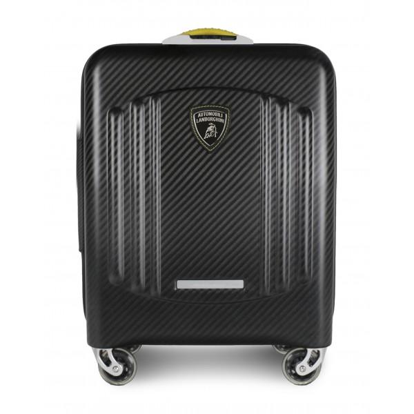 TecknoMonster - Automobili Lamborghini - Bynomio Automobili Lamborghini Small - Aeronautical Carbon Fibre Trolley Suitcase