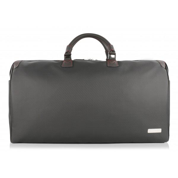 TecknoMonster - Matrik L TecknoMonster - Boston Bag in Fibra di Carbonio Aeronautico