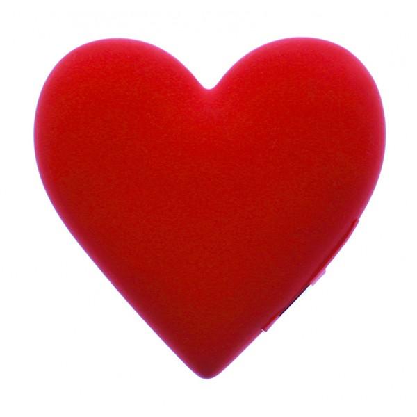 Moji Power - Heart - Cuore - Carica Batteria Portatile ad Alta Capacità Emoji Icon USB - Batterie Portatili - 2600 mAh