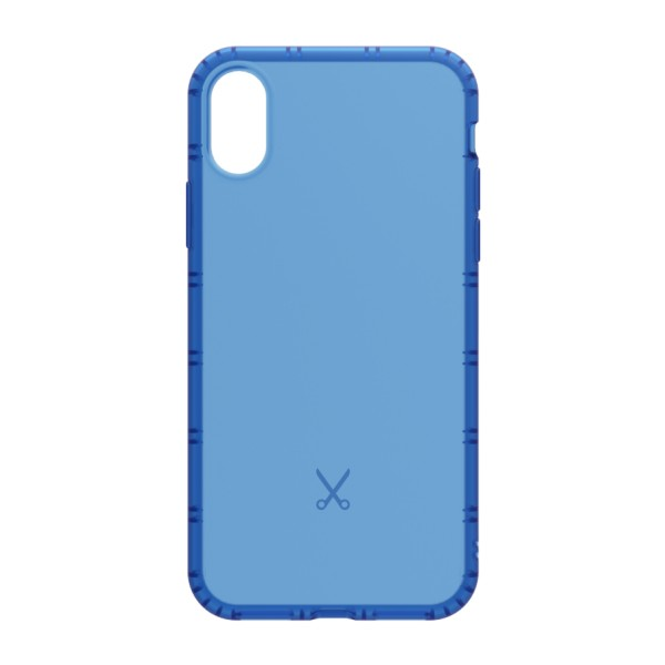 Philo - Shock Resistant Airshock Case for Apple - Airshock Cover - Blue - iPhone X