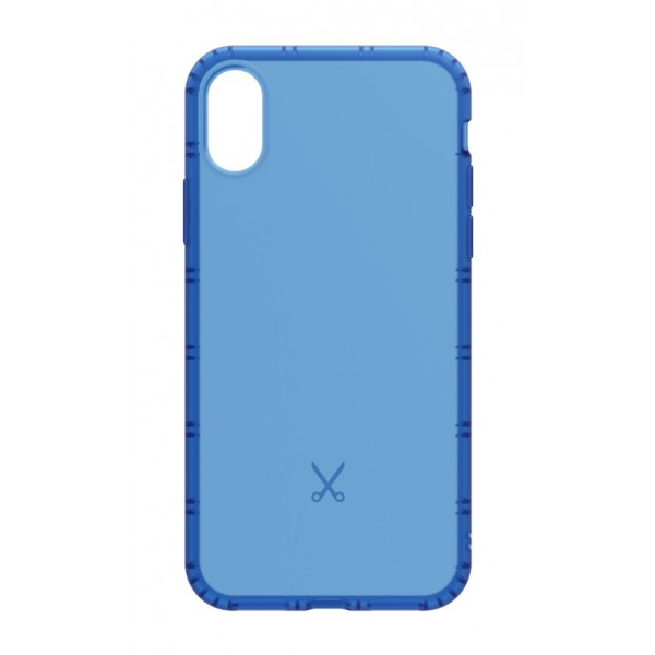Philo - Cover Airshock Resistente agli Urti per Apple - Cover Airshock - Blu - iPhone X