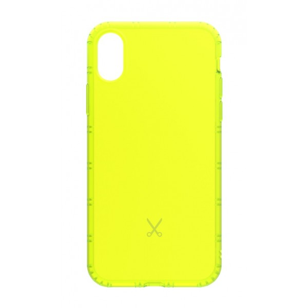 Philo - Cover Airshock Resistente agli Urti per Apple - Cover Airshock - Giallo - iPhone X
