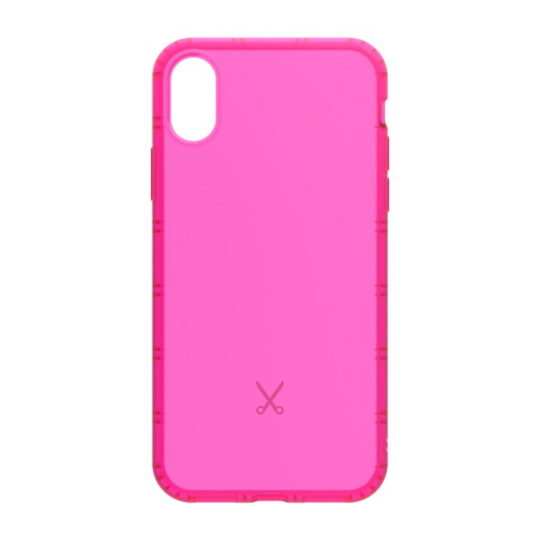 Philo - Cover Airshock Resistente agli Urti per Apple - Cover Airshock - Rosa - iPhone X