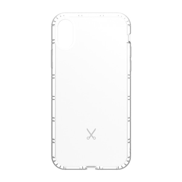 Philo - Cover Airshock Resistente agli Urti per Apple - Cover Airshock - Bianco - iPhone X