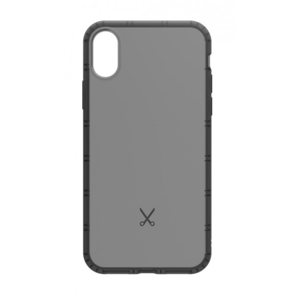 Philo - Cover Airshock Resistente agli Urti per Apple - Cover Airshock - Nero - iPhone X