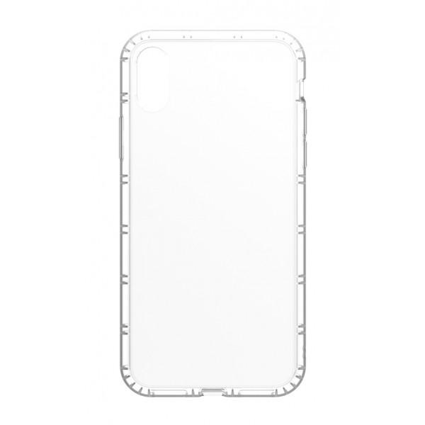 Philo - Cover Protettiva in Gomma Supersottile Antiscivolo per iPhone - Cover Slimbumper - Bumper Cover - Bianco - iPhone X