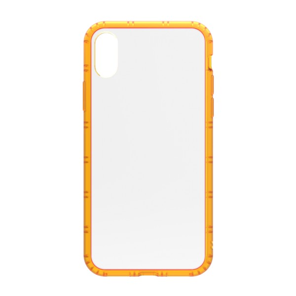 Philo - Cover Protettiva in Gomma Supersottile Antiscivolo iPhone - Cover Slimbumper - Bumper Cover - Arancione - iPhone X