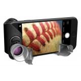 olloclip - Macro Pro Lens Set - Black Lens / Black Clip - iPhone 8 / 7 / 8 Plus / 7 Plus - Macro Lens 7X 14X 21X - Lens Set