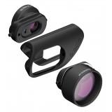 olloclip - Filmer's Kit - Limited Edition - Black / Red - iPhone 8 / 7 / 8 Plus / 7 Plus - Lens Set Kit