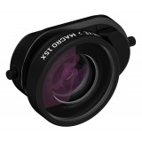 olloclip - Connect Fisheye + Macro 15X Lens - Black - iPhone 8 / 7 / 8 Plus / 7 Plus - Add on Connected Lenses