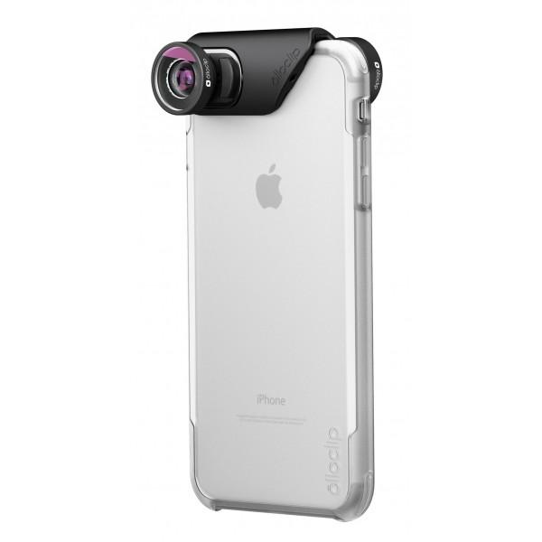 olloclip - Ollo Case - Ghiaccio Chiaro - iPhone 8 Plus / 7 Plus - Cover Trasparente iPhone - Cover Professionale