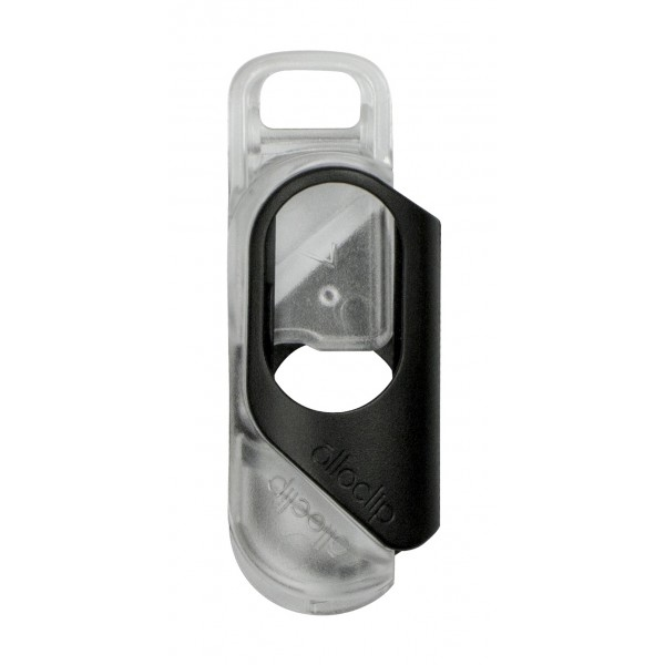 olloclip - iPhone 8 / 7 Clip + Pendant Stand (Case) - Black Clip / Clear Pendant Stand - iPhone 8 / 7 - Professional Clip