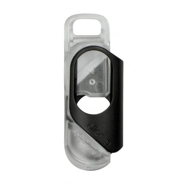 olloclip - iPhone 8 / 7 Clip + Pendant Stand (No Cover) - Clip Nero / Stand Pendente Chiaro - iPhone 8 / 7 - Clip Professionale