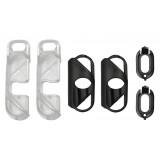 olloclip - iPhone 8 / 7 Clip + Pendant Stand (Cover) - Clip Nero / Stand Pendente Chiaro - Double Pack - Clip Professionale