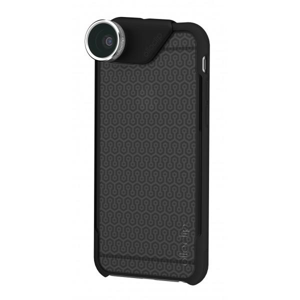 olloclip - Ollo Case - Nero Opaco Sfumato - iPhone 6 / 6s - Cover Trasparente iPhone - Cover Professionale