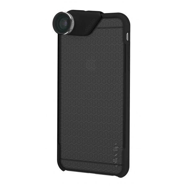 olloclip - Ollo Case - Nero Opaco Sfumato - iPhone 6 Plus / 6s Plus - Cover Trasparente iPhone - Cover Professionale