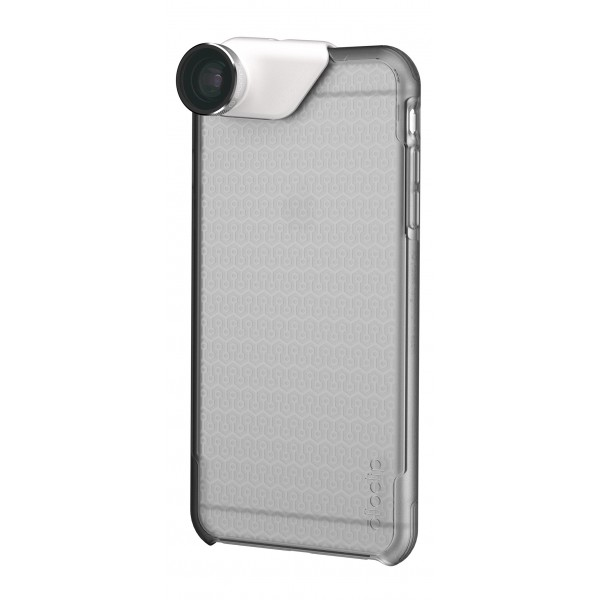 olloclip - Ollo Case - Ghiaccio Chiaro Opaco - iPhone 6 Plus / 6s Plus - Cover Trasparente iPhone - Cover Professionale
