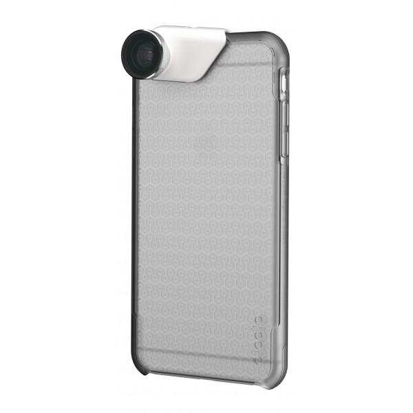olloclip - Ollo Case - Ghiaccio Chiaro Opaco - iPhone 6 Plus / 6s Plus - Cover Trasparente iPhone - Cover Professionale