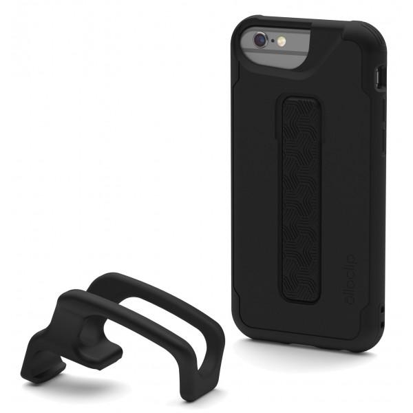 olloclip - Studio Cover + Finger Grip - Nero - iPhone 6 / 6s - Cover iPhone - Cover Professionale