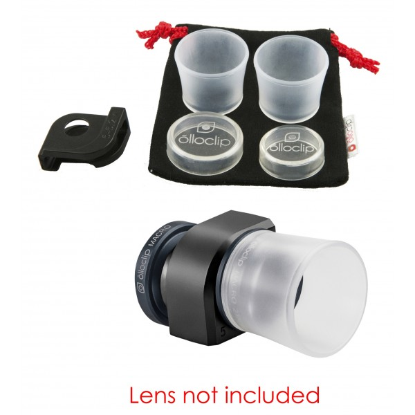 olloclip - Set Lenti Macro 3 in 1 - Kit Sostitutivo - iPhone 6 / 6s / 6 Plus / 6s Plus - Set Lenti