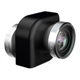 olloclip - Set Lenti 4 in 1 - Argento / Clip Nero - iPad Air / iPad Air 2 / Mini / Mini 2 / 3 / 4 - Fisheye Macro - Set Lenti