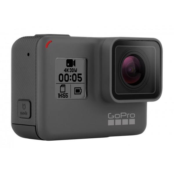 GoPro - HERO5 Black - Videocamera d'Azione Professionale Subaquea 4K - Videocamera Professionale