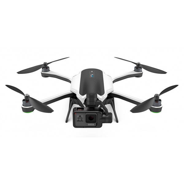 GoPro - Drone Karma + HERO6 Black - Drone with Stabilizer + Underwater Professional 4K Video Camera