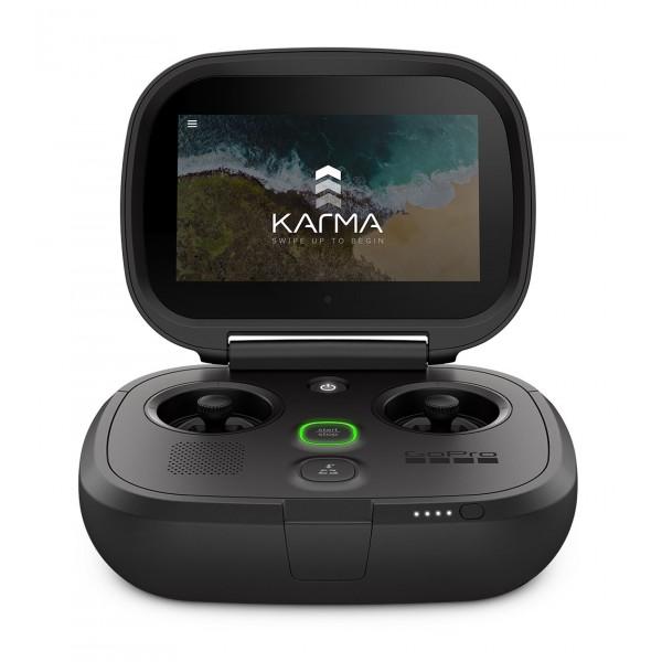 GoPro - Controller Karma - Nero - Controller Professionale per Drone Karma - GoPro HERO6 / HERO5 - 4K 1080p