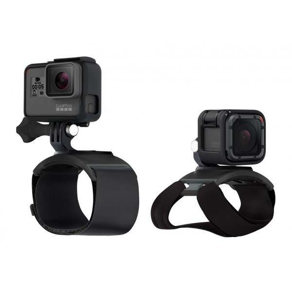 GoPro - Hand + Wrist Strap - Black - Usable with GoPro HERO6 / HERO5 - 4K 1080p